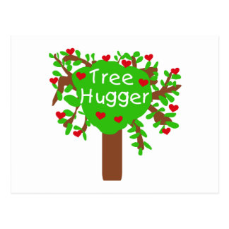 Tree Hugger Postcard