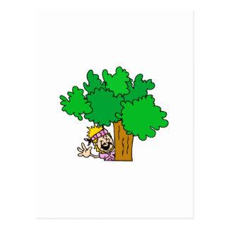 Tree Hugger Postcards
