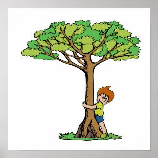 Tree Hugger Posters