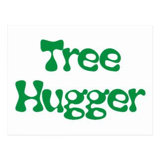 Tree Hugger Products & Designs! Postcard
