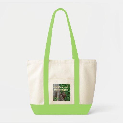 Tree Hugger re-usable tote Bag