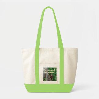 Tree Hugger re-usable tote Impulse Tote Bag