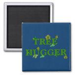 Tree Hugger Refrigerator Magnet