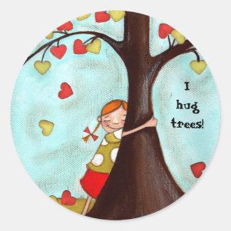 Tree Hugger - Sticker