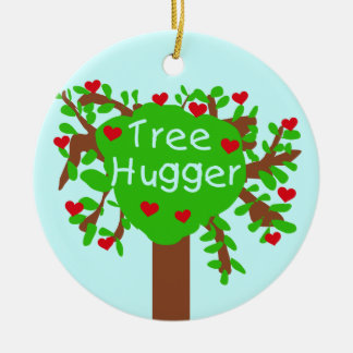 Tree Hugger T-shirts and Gifts Christmas Ornament