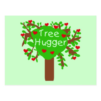 Tree Hugger T-shirts and Gifts Post Cards