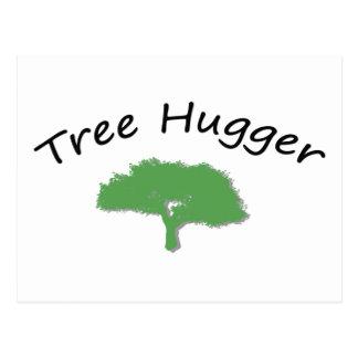 Tree Hugger Unique design! Postcard