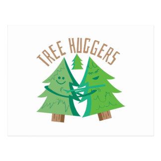 Tree Huggers Postcard