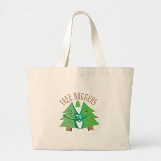 Tree Huggers Jumbo Tote Bag