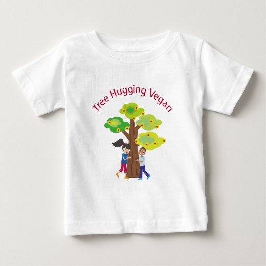 Tree Hugging Vegan Baby T-Shirt