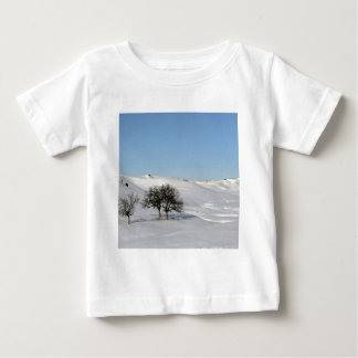 Tree Icey Snowscape Baby T-Shirt