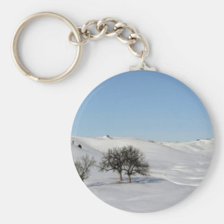 Tree Icey Snowscape Keychains