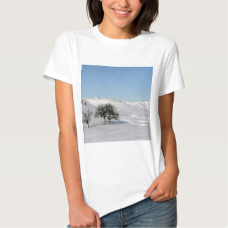 Tree Icey Snowscape Shirts