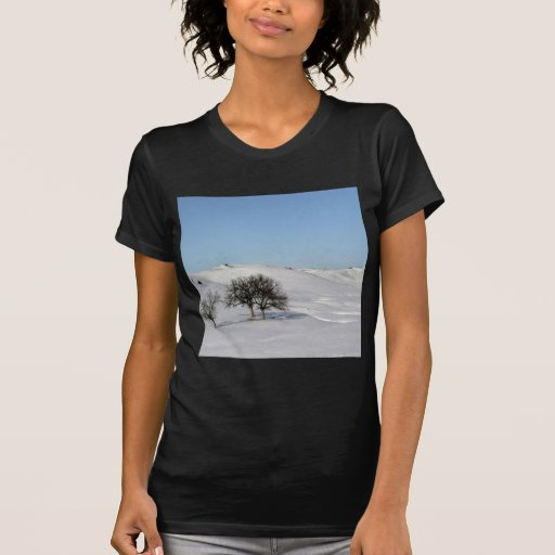 Tree Icey Snowscape Tshirts