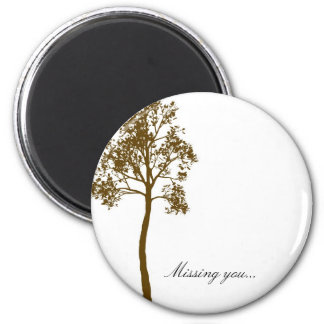 Tree II Missing You Magnet
