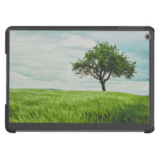 Tree in a field iPad air cover