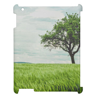 Tree in a field iPad cover