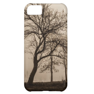 Tree in fog - Nature iPhone 5 Case