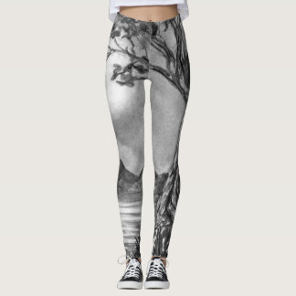 Tree In The Moonlight Leggings
