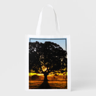Tree in the Morning Reusable Grocery Bag