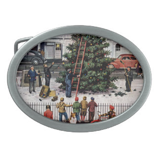 Tree in Town Square Belt Buckle