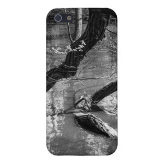 Tree In Water, Dark Horror Photograph, Woods Case For The iPhone 5