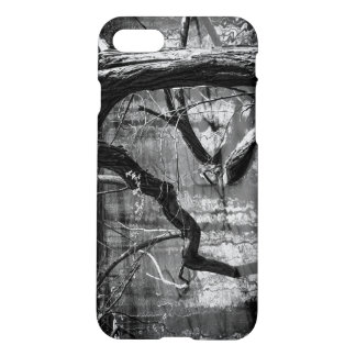 Tree In Water, Dark Horror Photograph, Woods iPhone 7 Case