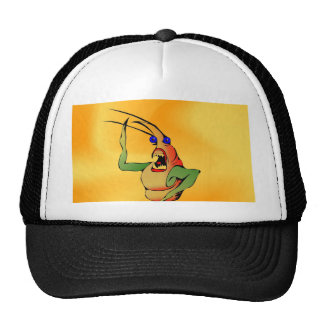 Tree Lady calling for green earth Mesh Hat
