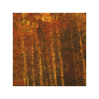 Tree Landscape Autumn Beauty Gallery Wrapped Canvas