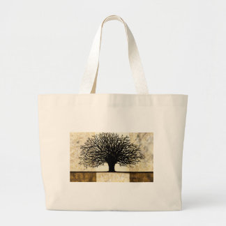 Tree Large Tote Bag