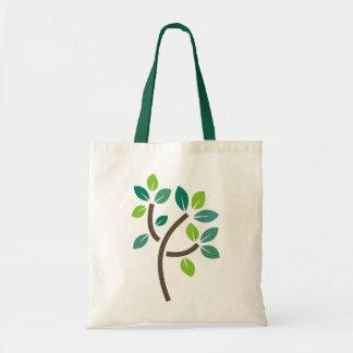Tree Leaves Budget Tote Bag