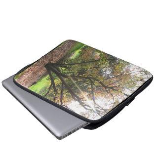 Tree Light Ray Autumn Electronics Bag Laptop Computer Sleeve