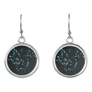 Tree lights earrings