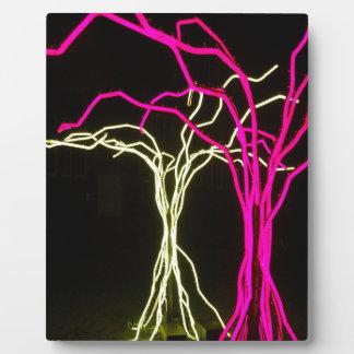 Tree Lights Plaque