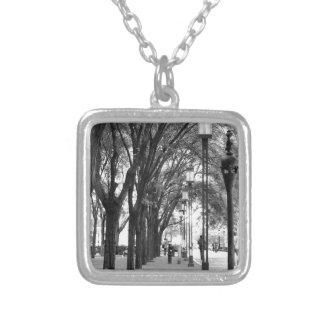 Tree Lined Walk Custom Necklace