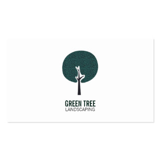 Tree Logo Pack Of Standard Business Cards