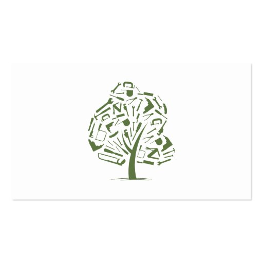 Create your own carpenter business cards page3 tree logo business card templates colourmoves