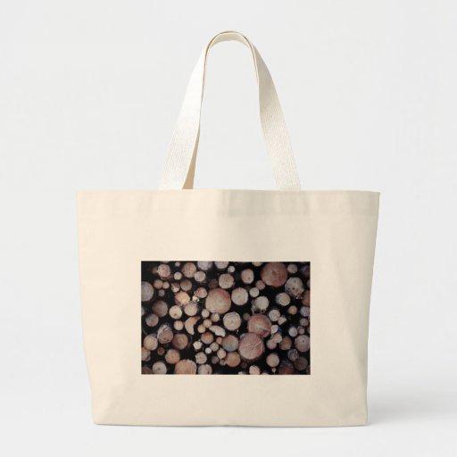 Tree logs bags