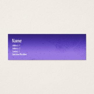 TREE LOVE blue 2 Mini Business Card