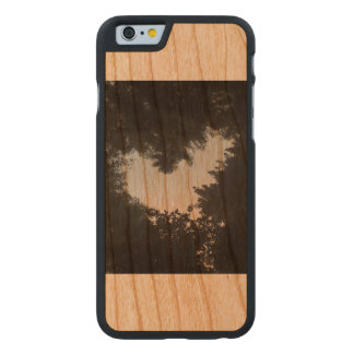 Tree love carved cherry iPhone 6 case