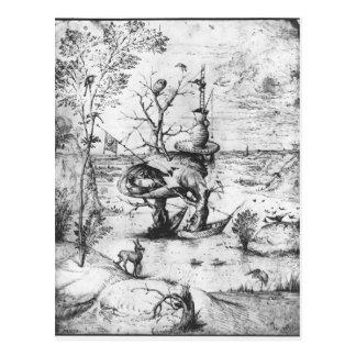 Tree Man by Hieronymus Bosch Postcard