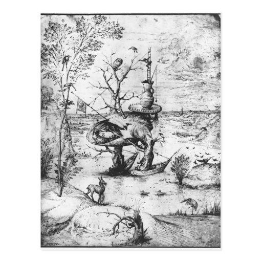 Tree Man by Hieronymus Bosch Postcards