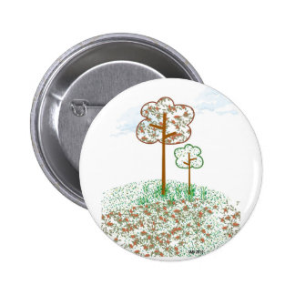 Tree Medely Pinback Buttons