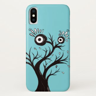 Tree Monster Weird Ink Drawing Case-Mate iPhone Case