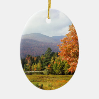 Tree Mount Mansfield Vermont Christmas Ornament
