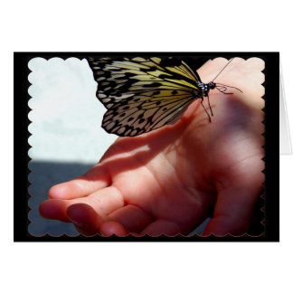 Tree Nymph on Hand Greeting Card