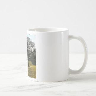 Tree Oaks Enormous Basic White Mug