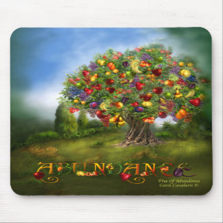 Tree Of Abundance Art Mousepad