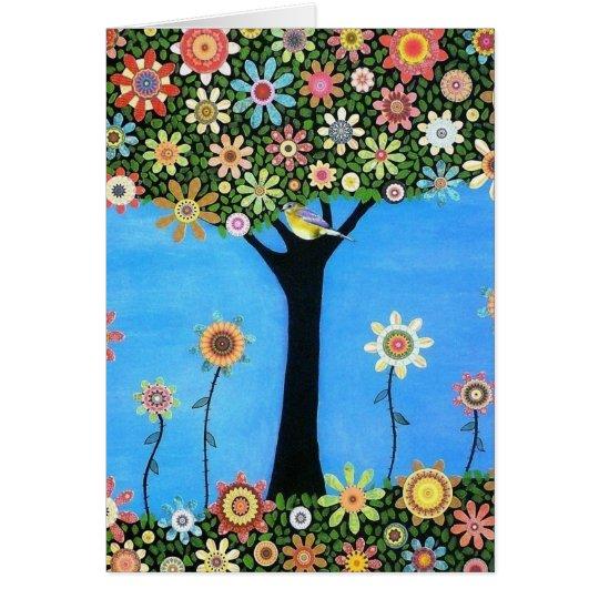 Tree of Beauty Card