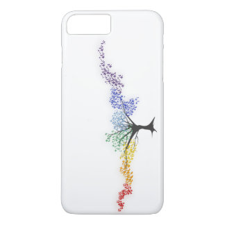 Tree of colorful butterflies iPhone 8 plus/7 plus case